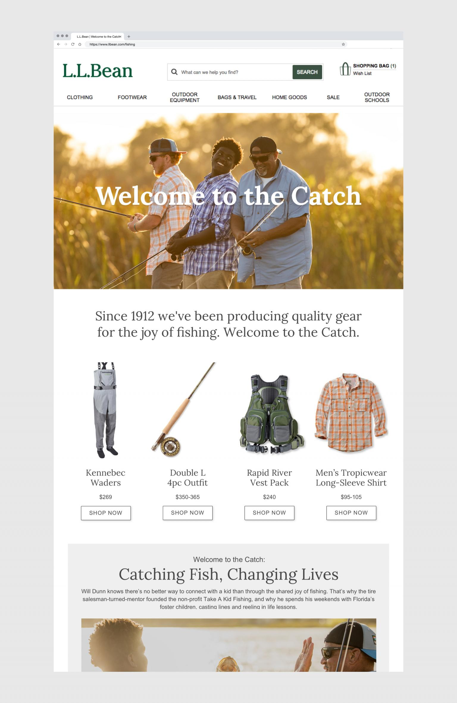 Welcome to the Catch Landing Page