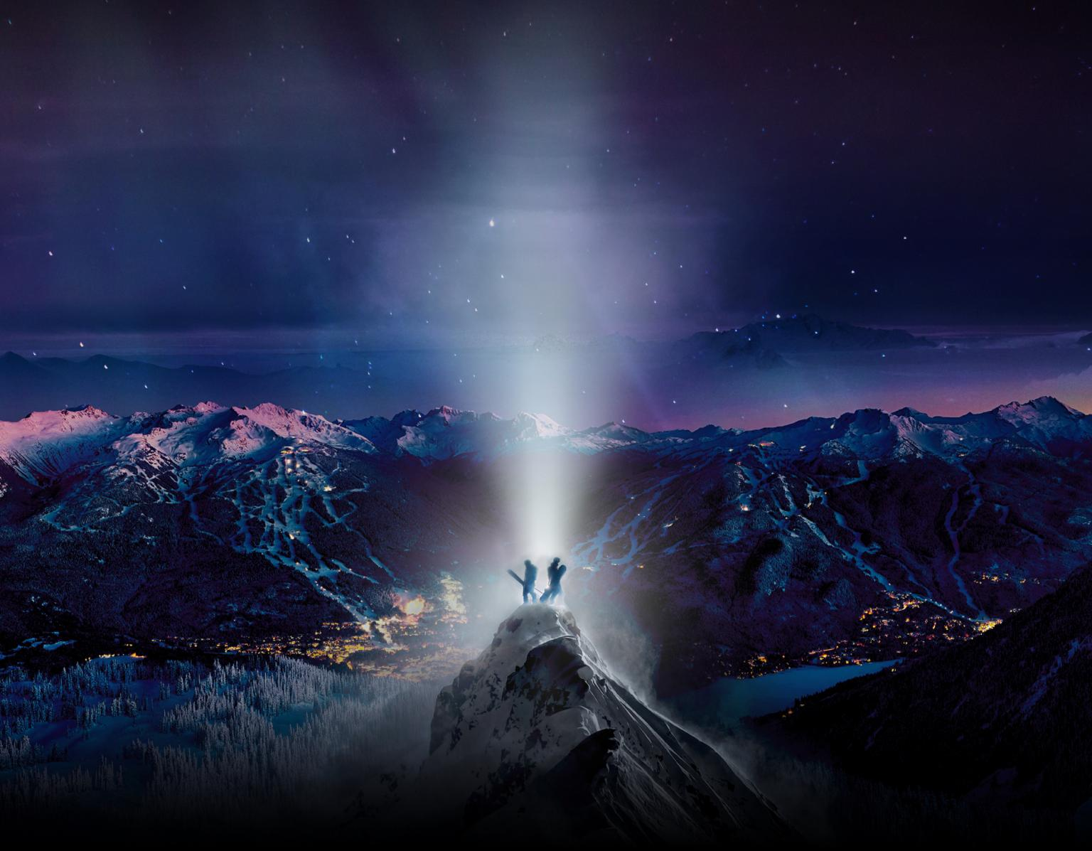 Magnetic Movie Whistler Blackcomb