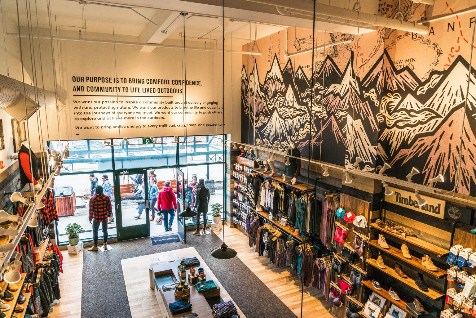 Smartwool Store View